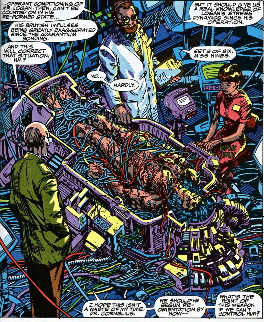 """Tratto da """"Wolverine: weapon X""""."""