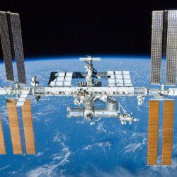 La Stazione Spaziale Internazionale.