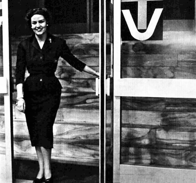 Elda Lanza, prima conduttrice della TV italiana.
